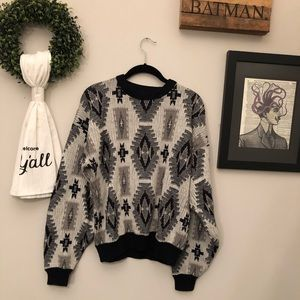 Oversized Graphic Sweater